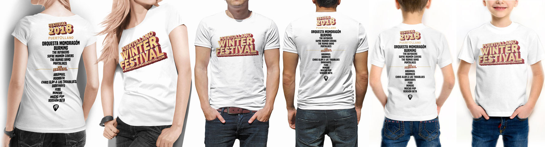 camiseta puertollano winter festival 2018